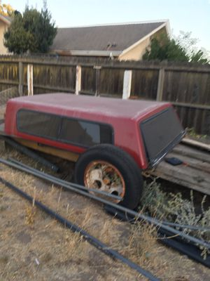 Truck long bed camper ford for Sale in Stockton, CA