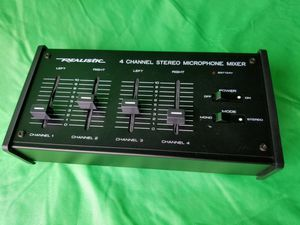 Mixer Small REALISTIC 4-Channel Stereo Mike Mixer for Sale in Pomona, CA