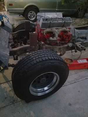 Cj5 jeep complete frame with 350 / 350 transmission for Sale in Torrance, CA