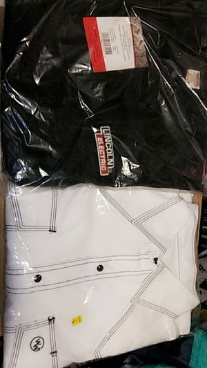Two flame retardant welding shirts size large for Sale in Lake Wales, FL