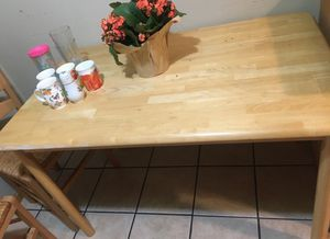 Kitchen Dining Table Chairs Set Dishes Painting for Sale in Minneapolis, MN