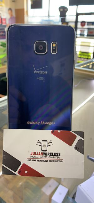 Galaxy s6 edge plus with 2 month warranty only @ Julian wireless for Sale in Columbus, OH