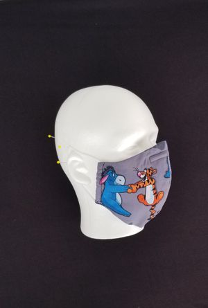 Disney Eeyore and Tigger Face cover Mask Adults Kids for Sale in San Diego, CA