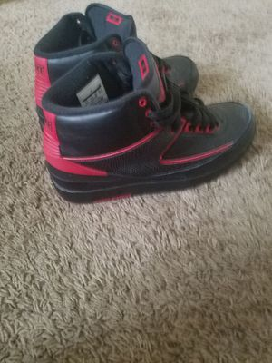Size 8.5 black and red 2's for sale for Sale in Philadelphia, PA