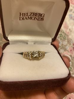 Engagement band and wedding ring. Paid $4500 for it my loss is your gain. 1/2 carat center stone and 1/2 carat total on band. WILL TAKE $1500 for Sale in Brighton,  CO
