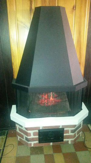 Beautiful electric fireplace with heat for Sale in Silver Spring, MD