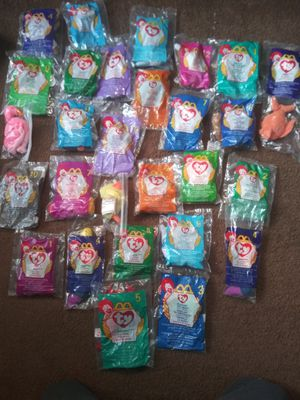 29 unopened Mcdonalds Beanie Babies dated 1999 for Sale in Mesa, AZ