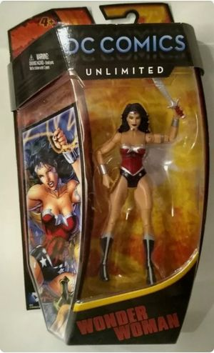 DC Comics Unlimited 6 Inch Wonder Woman Collectible Action Figure Toy for Sale in Chicago, IL