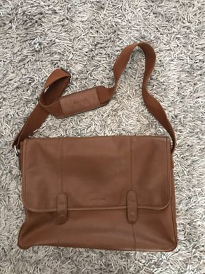 COLE HAAN CAMEL LEATHER LAPTOP BAG for Sale in San Diego, CA