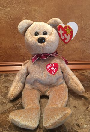 Beanie Baby 1999! Signature Bear to snuggle with you! for Sale in SEATTLE, WA