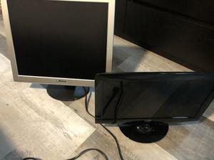 Computer monitors (2 piece) for Sale in Altamonte Springs, FL