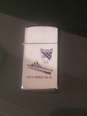 Zippo lighter U.S.S Gridley CG-21 for Sale in El Cajon, CA