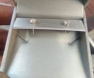 Half a carrot white gold diamond 💎 earrings for 600.00 for Sale in Portland, OR