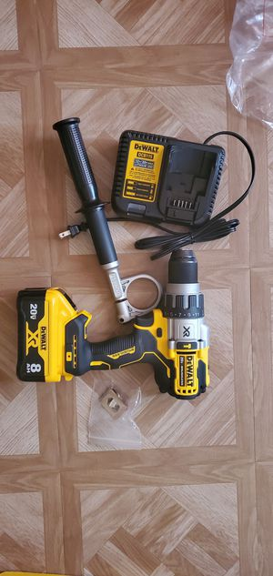 Dewalt 20-Volt Hammer Drill(Battery 8.0 xr and Charger Included) Firm price for Sale in Dumfries, VA
