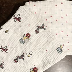 aden + anais Swaddle Muslin Blankets- 2 PCS for Sale in Yorba Linda,  CA