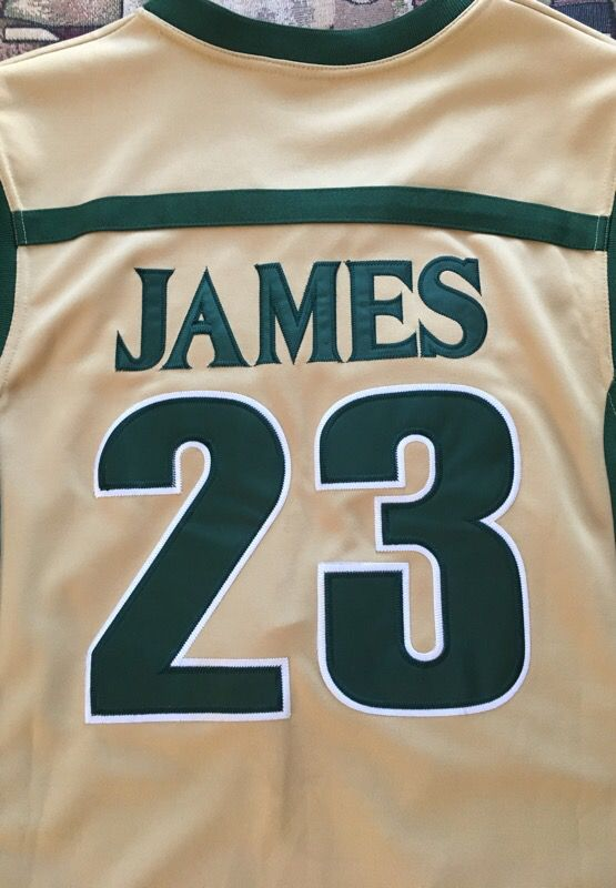 meet f08a2 69ae4 Lebron James Stitched High School Jersey. Original Limited Edition High  School Legends. Size XL for Sale in Hayward, CA - OfferUp