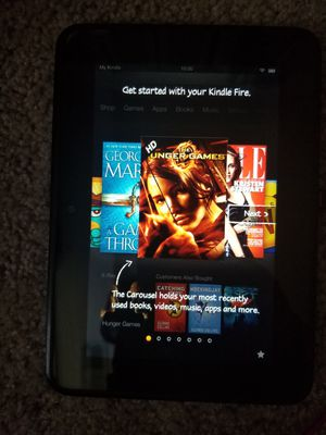 Amazon Kindle Fire HD Model X43Z60 16MB, Wi-Fi, 7in TouchScreen Tablet for Sale in Bensalem, PA