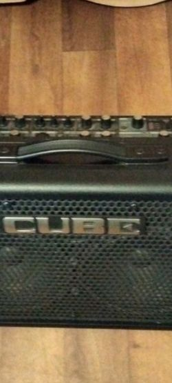 "RolandCUBE Street EX 2x8"" 50-watt Battery Powered Combo Amp for Sale in West Linn,  OR"