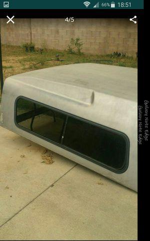 Camper vuenas condisiones mide 7 pies de largo x6 de ancjo no se que troca lo traia for Sale in Baldwin Park, CA