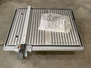 Tile Saw - New, never used for Sale in University Place, WA