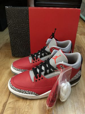 Jordan 3 Retro Unite Fire Red for Sale in Ontario, CA