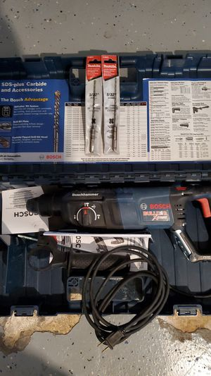 Bosch hammer drill sds for Sale in New Port Richey, FL