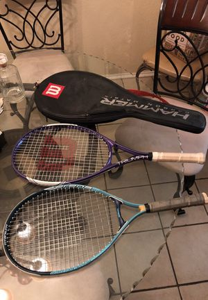 Two Wilson Tennis Rackets for Sale in Dallas, TX