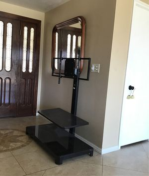 TV stand glass for Sale in San Dimas, CA