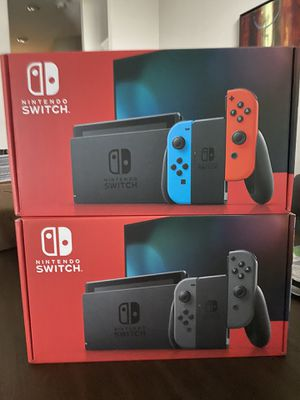 NINTENDO SWITCH V2 (NEON AND GREY) for Sale in Pearland, TX