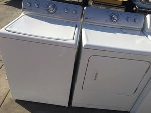 MAYTAG WASHER AND GAS DRYER TOP LOAD for Sale in Los Angeles, CA