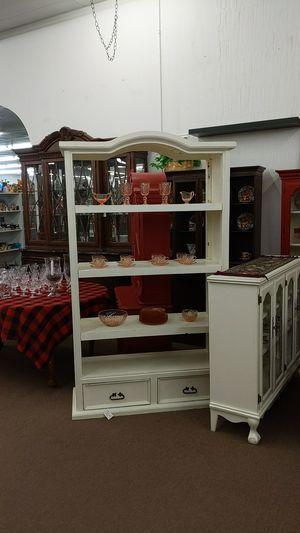 White 2 way Shelf / Room Divider for Sale in Mesa, AZ