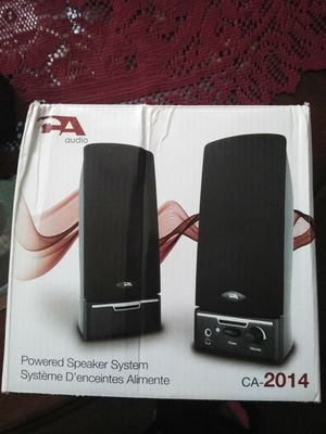 Audio Powered Speaker System for Sale in Cleveland, OH