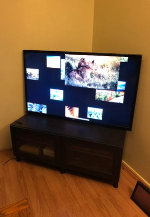 55 in tv and tv stand combo for Sale in Santa Clara, CA