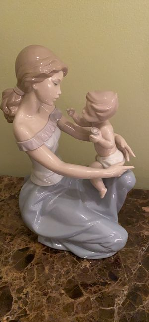 Lladro One for you and one for me mother figurine for Sale in West Bloomfield Township, MI