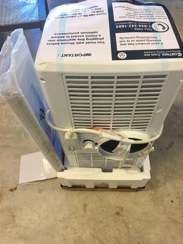 10,000 BTU portable AC unit - HVAC Air Conditioner 10k BTU - window unit with dehumidifier function