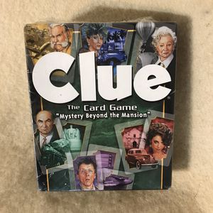 Clue the Card Game Mystery Beyond the Mansion for Sale in Anchorage, AK