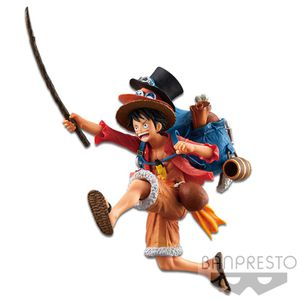 Japanese Anime Figurine One Piece Luffy D. Monkey Three Brothers Banpresto for Sale in Chicago, IL