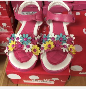 hot pink flowers sandals for Sale in Queens, NY