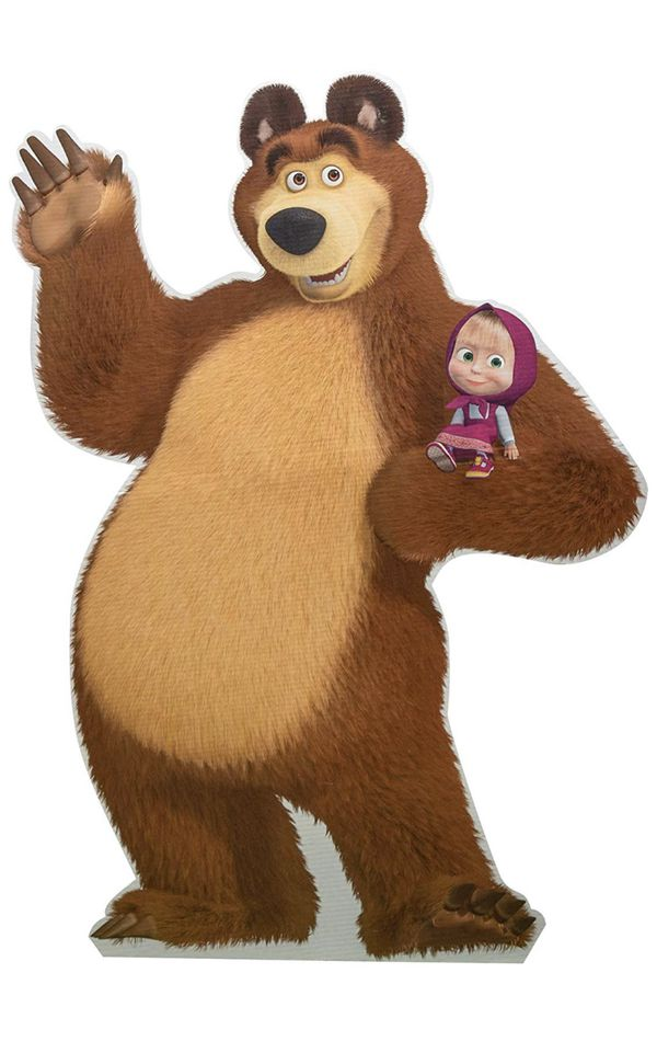 Masha and the bear- stand