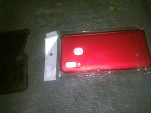 Samsung A20 Phone case 360' protection and glass screen protectors included when purchase case. for Sale in Vinton, LA