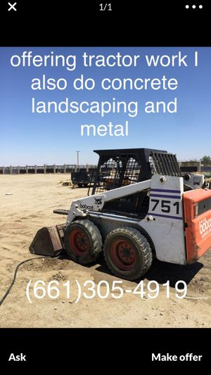 Bobcat, grading,tractor,rock,concrete for Sale in Phelan, CA