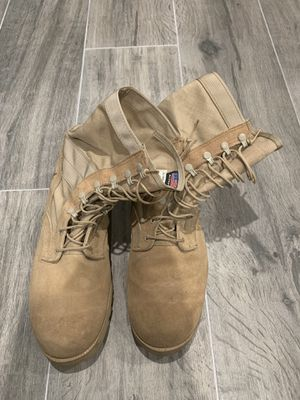 Boot campaign Altama work military boots men size 13 wide for Sale in Rancho Cucamonga, CA