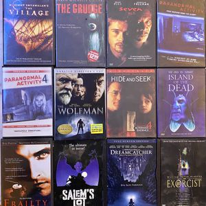 12 DVD Horror Movie Classics for Sale in Southgate, MI