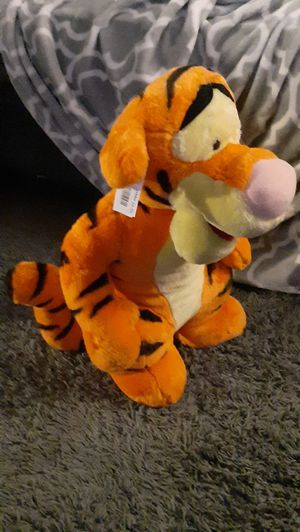 Really cute Tigger stuffed animal shipping available for Sale in Manheim, PA