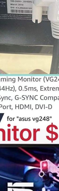 ASUS Gaming Monitor for Sale in Los Angeles,  CA