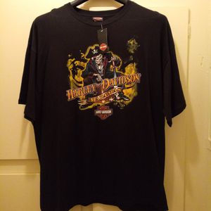 2013 Harley Davidson Of Bahamas Mens 2X Black Tee Shirt Genuine New With tags for Sale in Pomona, CA