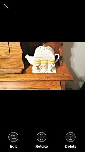 Hallmark Gourmet Gifts 3 Christmas Angels Porcelain Teapot for Sale in Lynchburg, VA