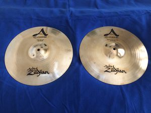 "Zildjian - A Custom - 14"" High Hat Cymbals - NEW! for Sale in Apollo Beach, FL"