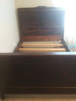Full Size Sleigh Bed for Sale in San Angelo, TX