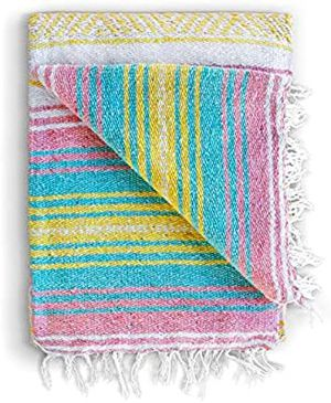 Sunrise Authentic Hand Woven Blanket for Sale in Los Angeles, CA
